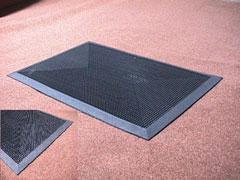 Diana brushmat 2 with triangle