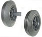 Wheelie bin wheel 1 Black hub