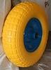 Pu Wheel 15 Pu Wheel on metal hub with 35mm bore