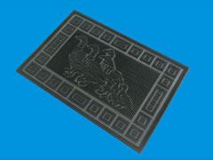 Duck  pattern brushmat